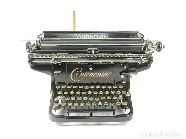ANTIGUA MAQUINA DE ESCRIBIR CONTINENTAL AÑO 1925 TYPEWRITER SCHREIBMASCHINE (Antigüedades - Técnicas - Máquinas de Escribir Antiguas - Continental)