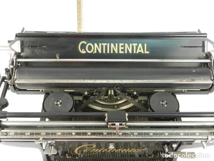 Antigüedades: ANTIGUA MAQUINA DE ESCRIBIR CONTINENTAL AÑO 1925 TYPEWRITER SCHREIBMASCHINE - Foto 4 - 215843065