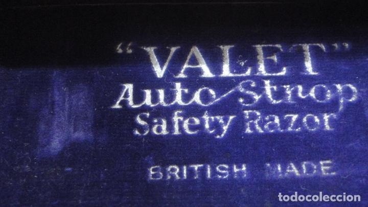 Antigüedades: ANTIGUA MAQUINILLA DE AFEITAR.VALET AUTOSTROP.MODELO B AJUSTABLE.LONDON.CANADA 1914? - Foto 10 - 215873088