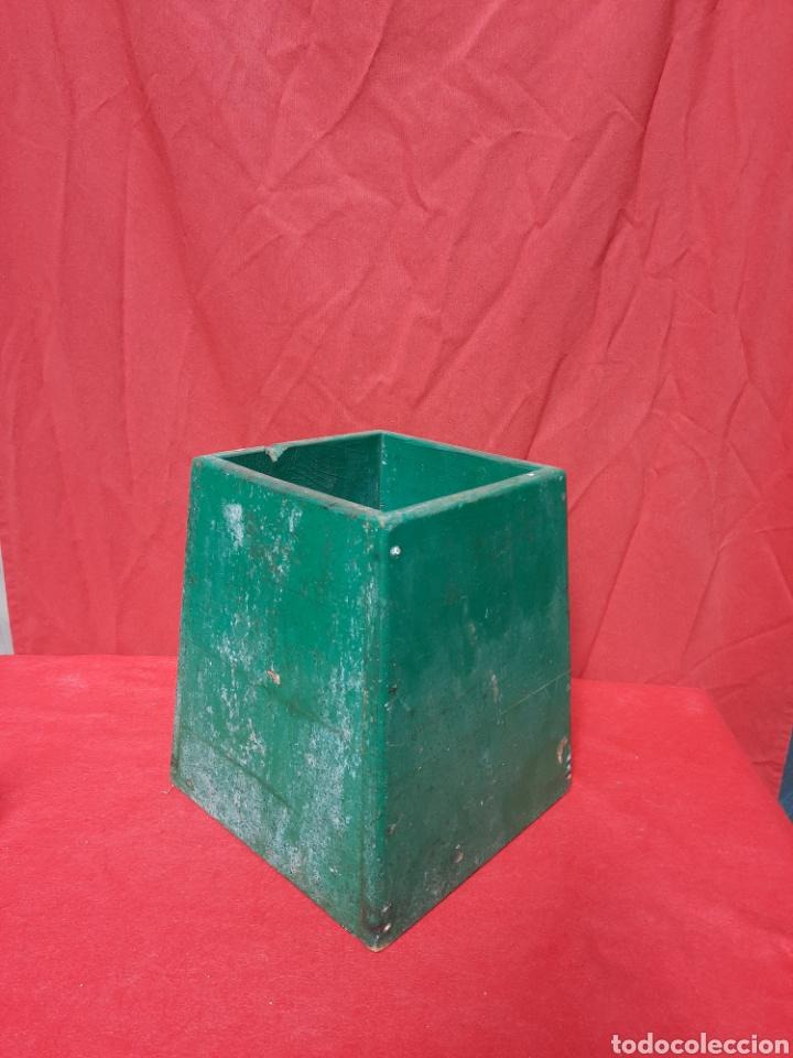 Antigüedades: Antiguo mirándonos/ batiscopio marinero de madera - Foto 3 - 215964575