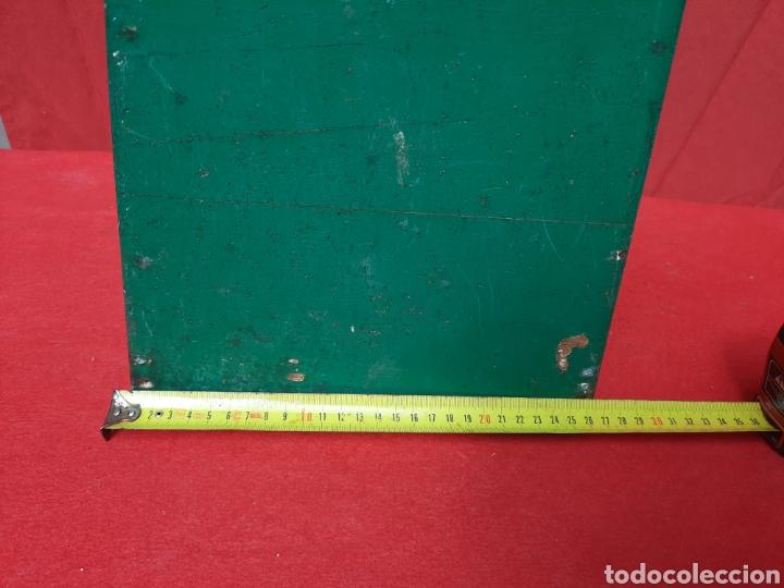 Antigüedades: Antiguo mirándonos/ batiscopio marinero de madera - Foto 5 - 215964575