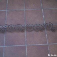 Antigüedades: BARANDILLA MACETERO HIERRO FORJA DE VENTANA PARA PARED. Lote 215969811