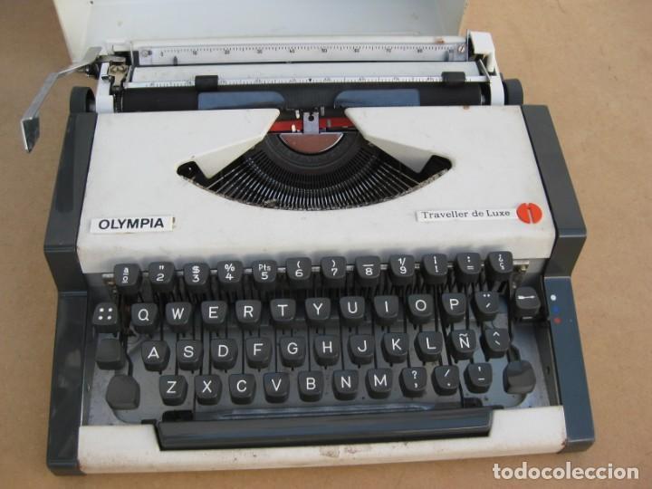 Antigüedades: Maquina escribir Olympia. Traveller de Luxe. - Foto 2 - 215982575