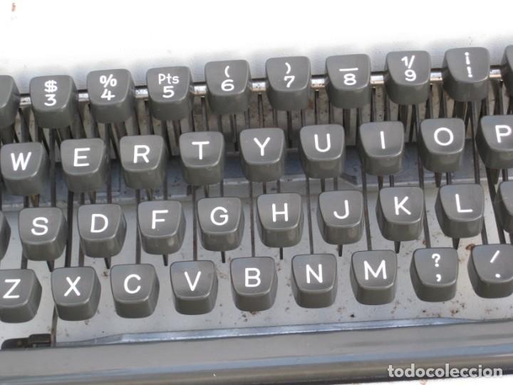 Antigüedades: Maquina escribir Olympia. Traveller de Luxe. - Foto 4 - 215982575