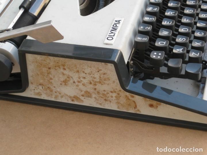 Antigüedades: Maquina escribir Olympia. Traveller de Luxe. - Foto 6 - 215982575