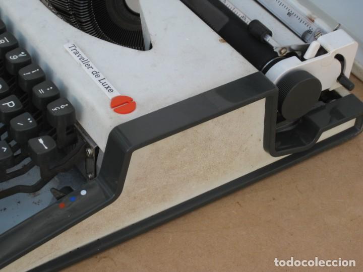 Antigüedades: Maquina escribir Olympia. Traveller de Luxe. - Foto 7 - 215982575