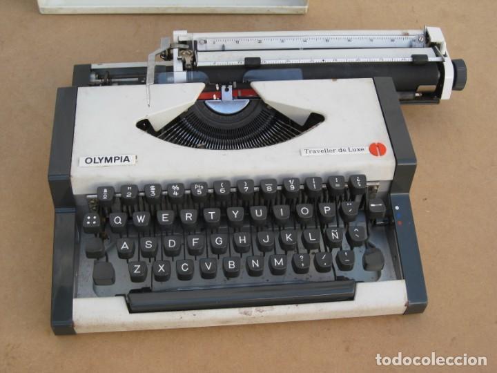 Antigüedades: Maquina escribir Olympia. Traveller de Luxe. - Foto 10 - 215982575