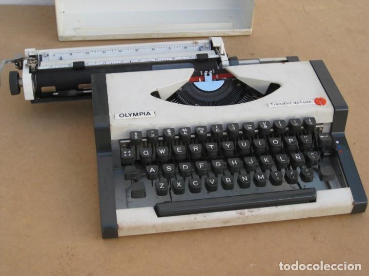 Antigüedades: Maquina escribir Olympia. Traveller de Luxe. - Foto 13 - 215982575