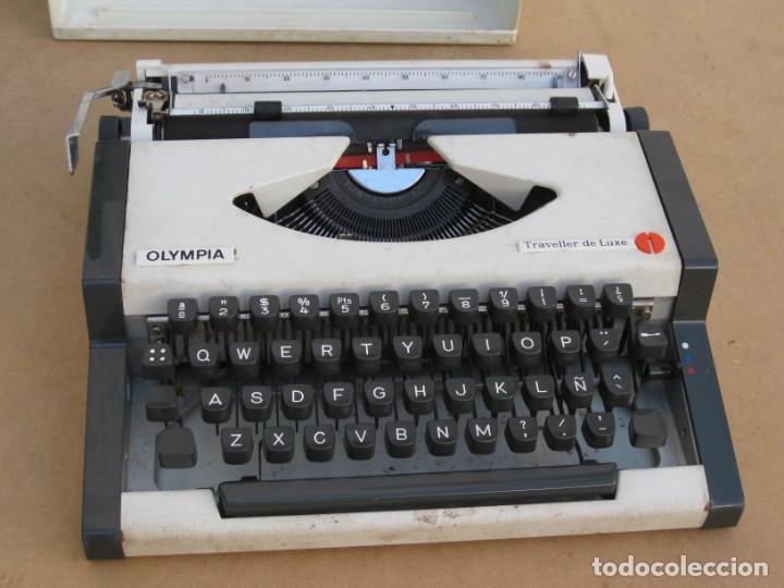 Antigüedades: Maquina escribir Olympia. Traveller de Luxe. - Foto 14 - 215982575