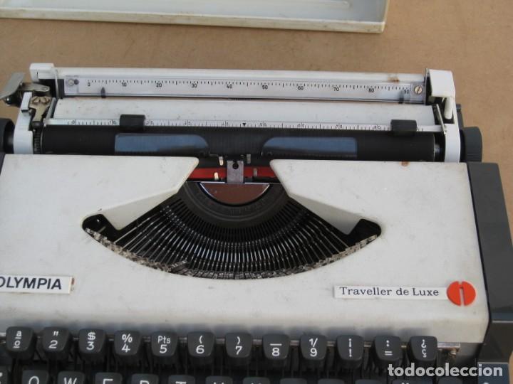 Antigüedades: Maquina escribir Olympia. Traveller de Luxe. - Foto 15 - 215982575