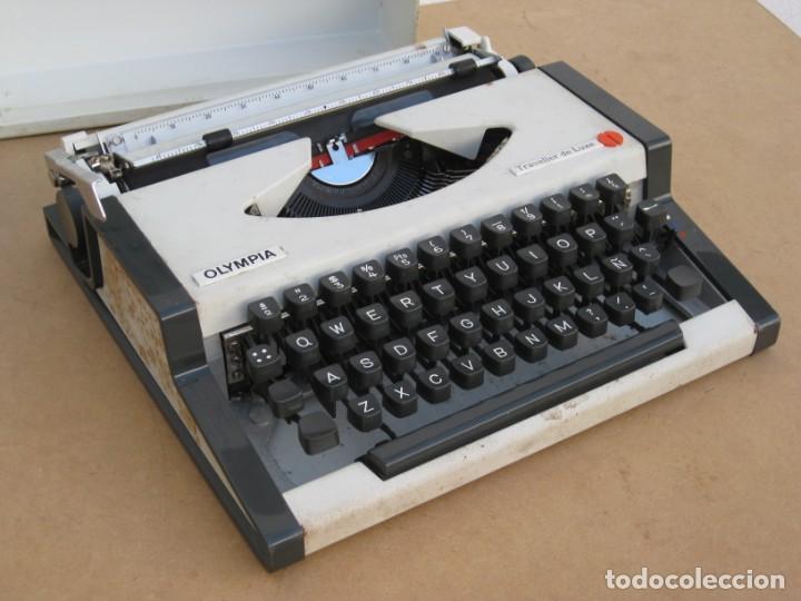 Antigüedades: Maquina escribir Olympia. Traveller de Luxe. - Foto 16 - 215982575