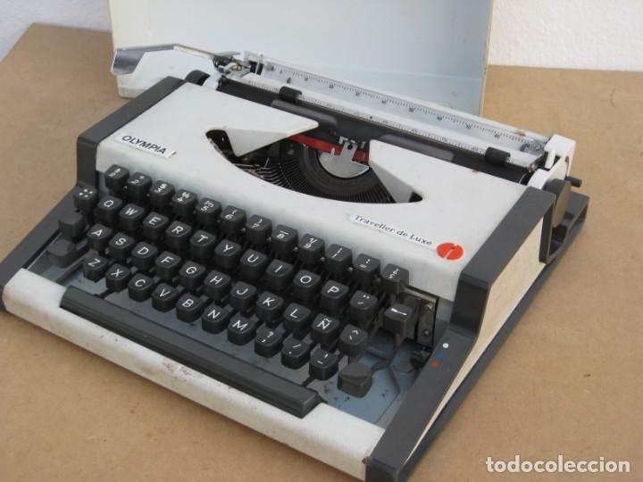 Antigüedades: Maquina escribir Olympia. Traveller de Luxe. - Foto 17 - 215982575