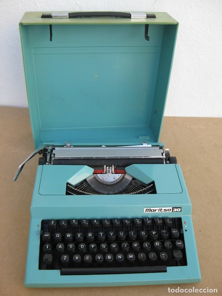 MAQUINA ESCRIBIR MARITSA 30 (Antigüedades - Técnicas - Máquinas de Escribir Antiguas - Otras)