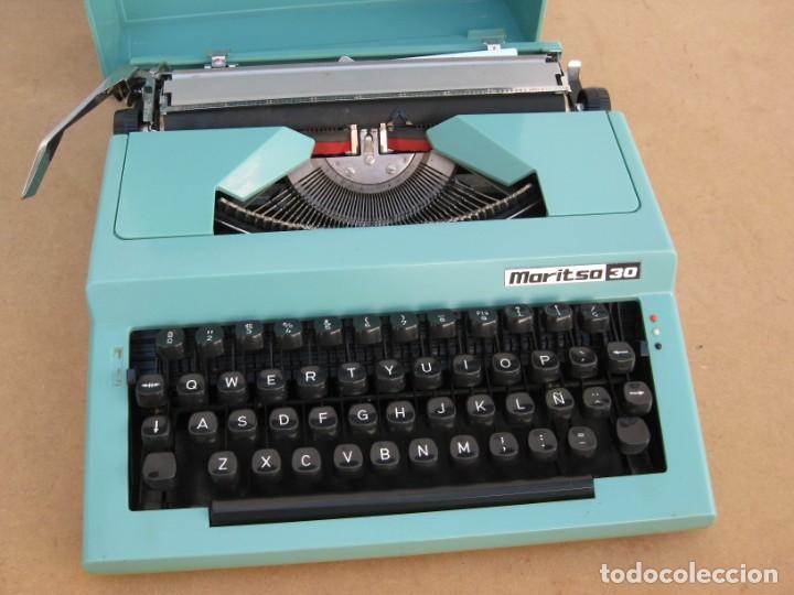 Antigüedades: Maquina escribir Maritsa 30 - Foto 2 - 215983060
