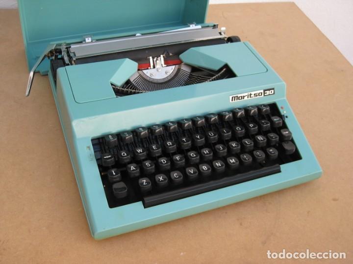 Antigüedades: Maquina escribir Maritsa 30 - Foto 6 - 215983060