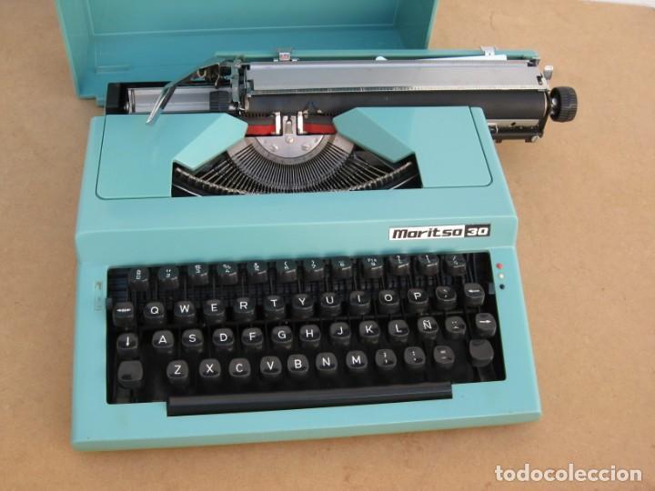 Antigüedades: Maquina escribir Maritsa 30 - Foto 7 - 215983060