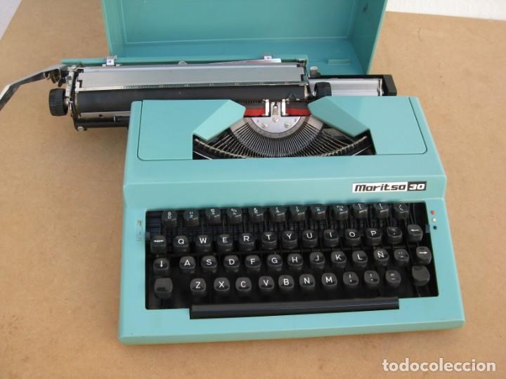 Antigüedades: Maquina escribir Maritsa 30 - Foto 8 - 215983060