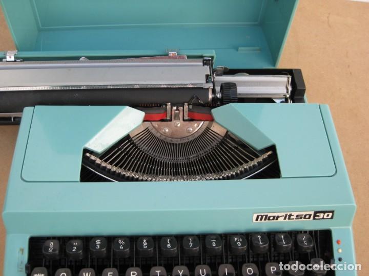 Antigüedades: Maquina escribir Maritsa 30 - Foto 9 - 215983060