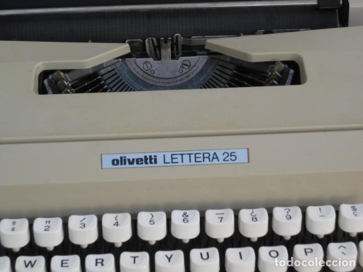 Antigüedades: Maquina escribir Olivetti Lettera 25 - Foto 3 - 215983865