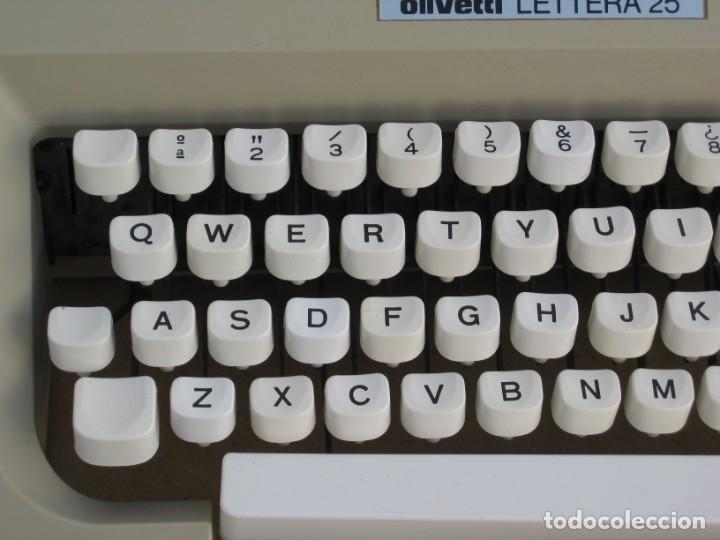 Antigüedades: Maquina escribir Olivetti Lettera 25 - Foto 8 - 215983865