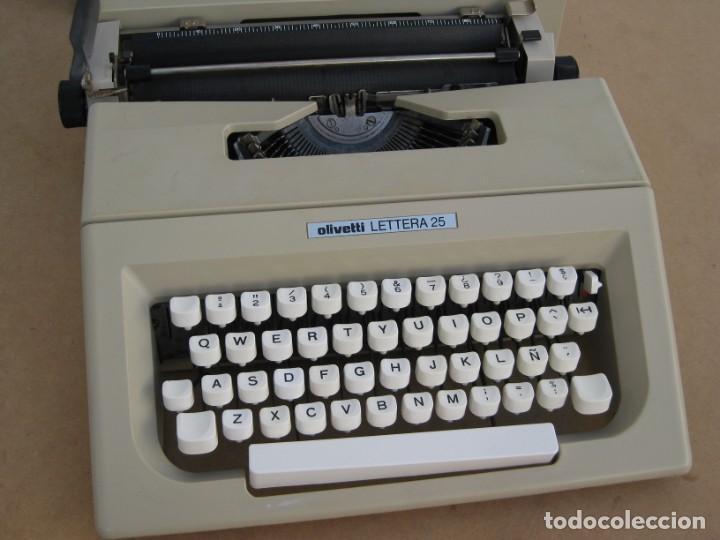 Antigüedades: Maquina escribir Olivetti Lettera 25 - Foto 9 - 215983865