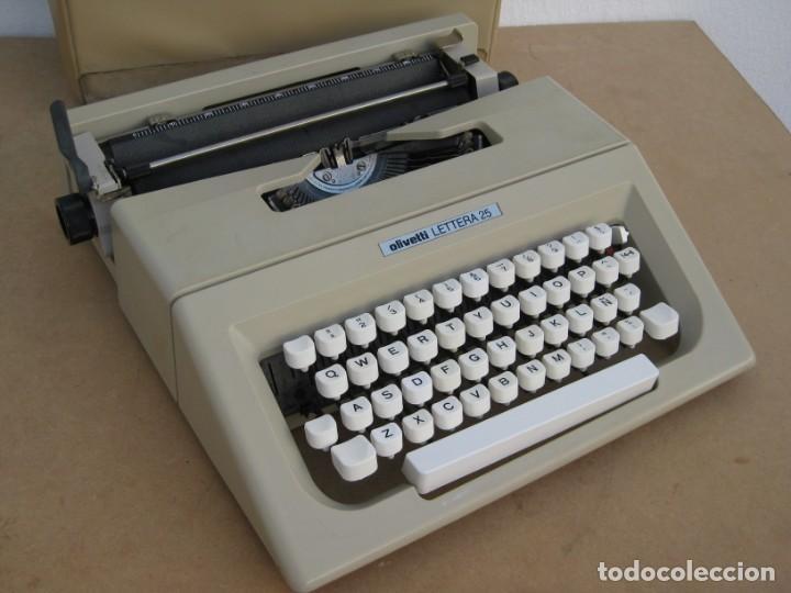 Antigüedades: Maquina escribir Olivetti Lettera 25 - Foto 10 - 215983865
