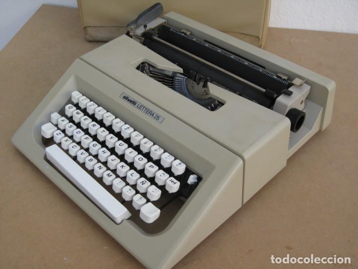 Antigüedades: Maquina escribir Olivetti Lettera 25 - Foto 11 - 215983865