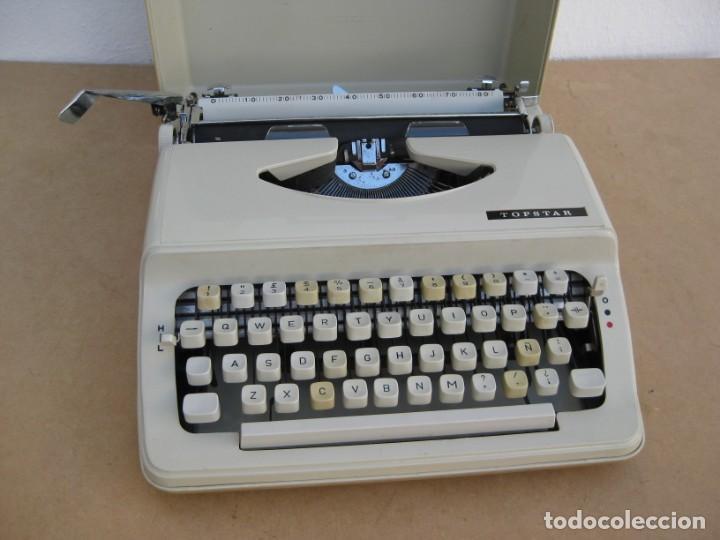 MAQUINA ESCRIBIR TOPSTAR. MODEL 2000. JAPAN. (Antigüedades - Técnicas - Máquinas de Escribir Antiguas - Otras)