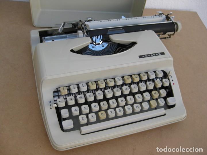 Antigüedades: Maquina escribir Topstar. Model 2000. Japan. - Foto 3 - 215984791