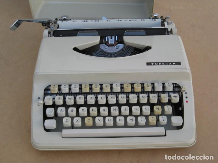Antigüedades: Maquina escribir Topstar. Model 2000. Japan. - Foto 10 - 215984791