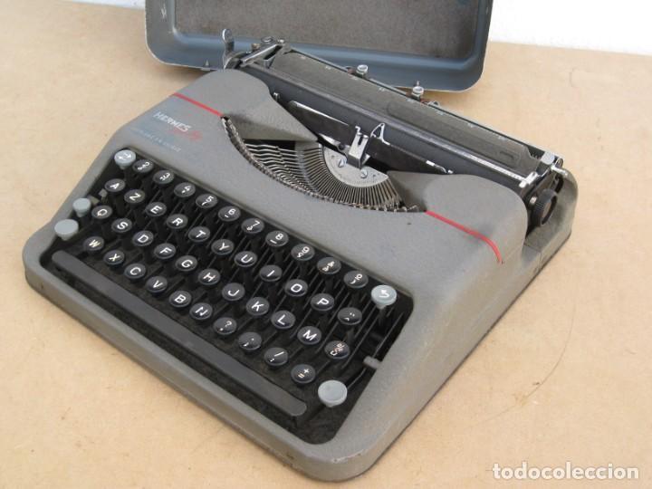 Antigüedades: Maquina escribir antigua. Hermes Baby. Suisse. - Foto 13 - 215985987