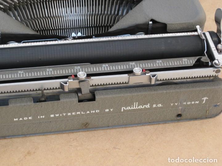 Antigüedades: Maquina escribir antigua. Hermes Baby. Suisse. - Foto 16 - 215985987