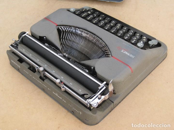 Antigüedades: Maquina escribir antigua. Hermes Baby. Suisse. - Foto 18 - 215985987