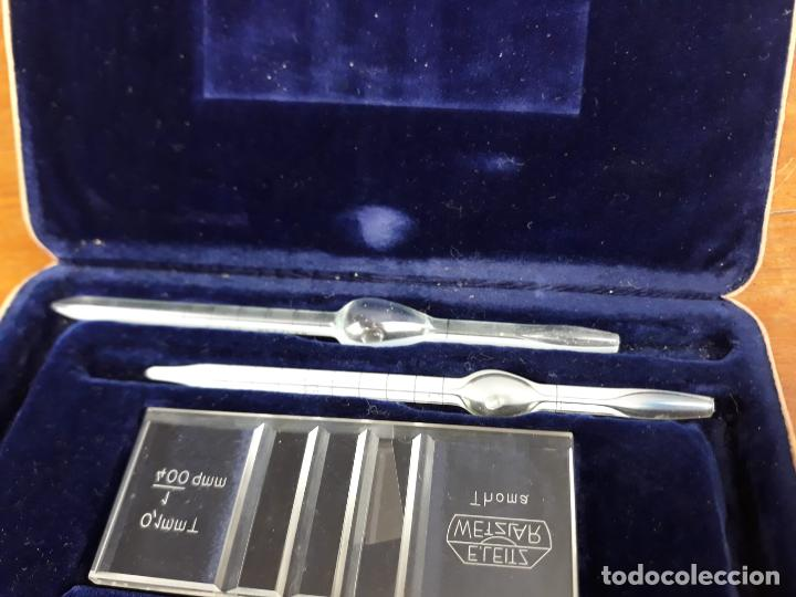Antigüedades: Ernst Leitz Wetzlar Haemacytometer Thoma Perfecto, funda cuero origen Circa 1930 - Foto 12 - 216017857
