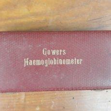 Antigüedades: HEMOGLOBINOMETRO DE GOWERS - ORIGINAL DE PRINCIPIOS DE SIGLO XX - PIEZA DE MUSEO. Lote 216022303