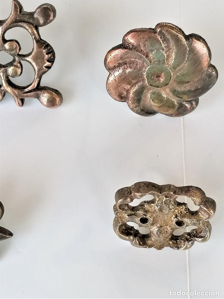 Antigüedades: COLECCION 19 ANTIGUOS BRONCES DECORATIVOS SIGLO XIX, PARA MUEBLES,BARCOS,CARROZAS,CABALLOS,CATALUNYA - Foto 8 - 216357080