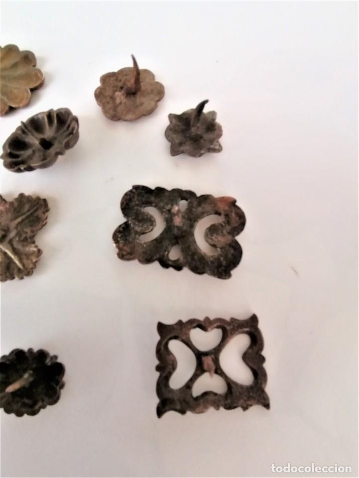 Antigüedades: COLECCION 19 ANTIGUOS BRONCES DECORATIVOS SIGLO XIX, PARA MUEBLES,BARCOS,CARROZAS,CABALLOS,CATALUNYA - Foto 11 - 216357080