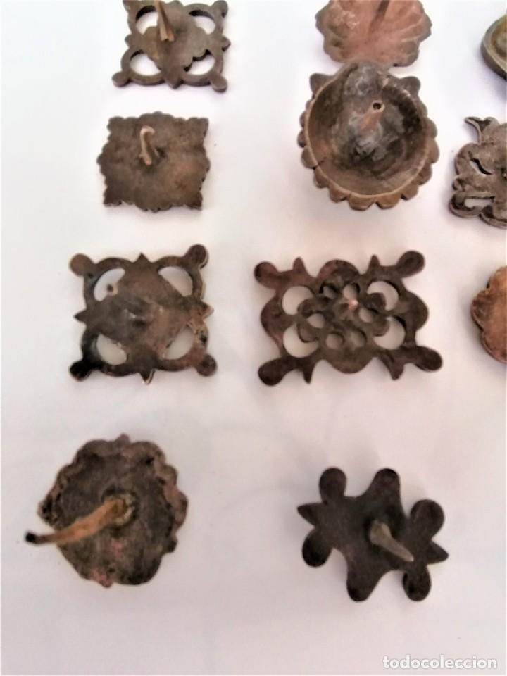 Antigüedades: COLECCION 19 ANTIGUOS BRONCES DECORATIVOS SIGLO XIX, PARA MUEBLES,BARCOS,CARROZAS,CABALLOS,CATALUNYA - Foto 13 - 216357080