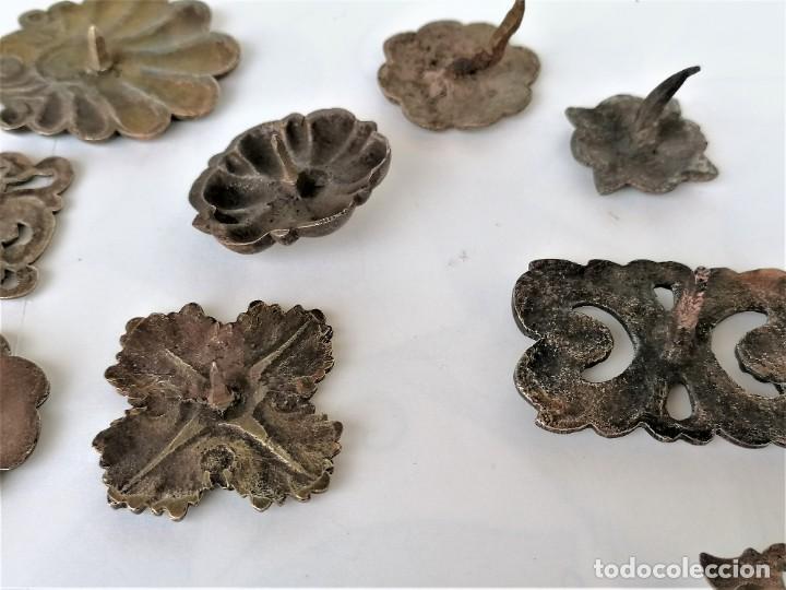 Antigüedades: COLECCION 19 ANTIGUOS BRONCES DECORATIVOS SIGLO XIX, PARA MUEBLES,BARCOS,CARROZAS,CABALLOS,CATALUNYA - Foto 14 - 216357080