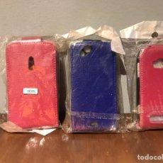 Teléfonos: 3 FUNDAS ANTIGUOS TELÉFONOS MÓVILES. Lote 216396853