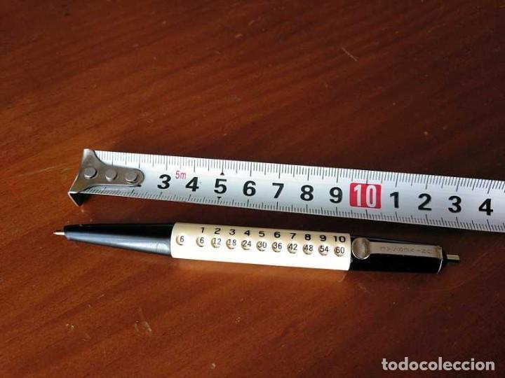 Antigüedades: BOLIGRAFO UNIVERSAL CON LA TABLA - TABLAS DE MULTIPLICAR CALCULADORA - MULTIPLYING PEN CALCULATOR - - Foto 41 - 216411642