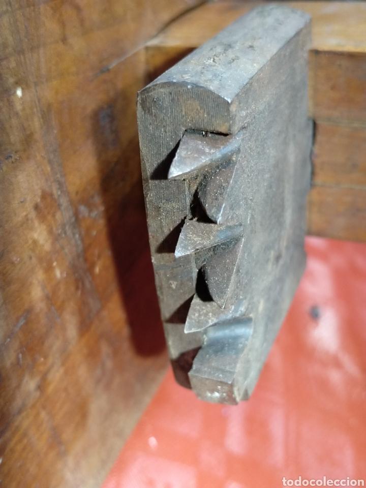 Antigüedades: Enorme Gramil de carpintero de ribera. Herramienta especial. - Foto 5 - 216416688