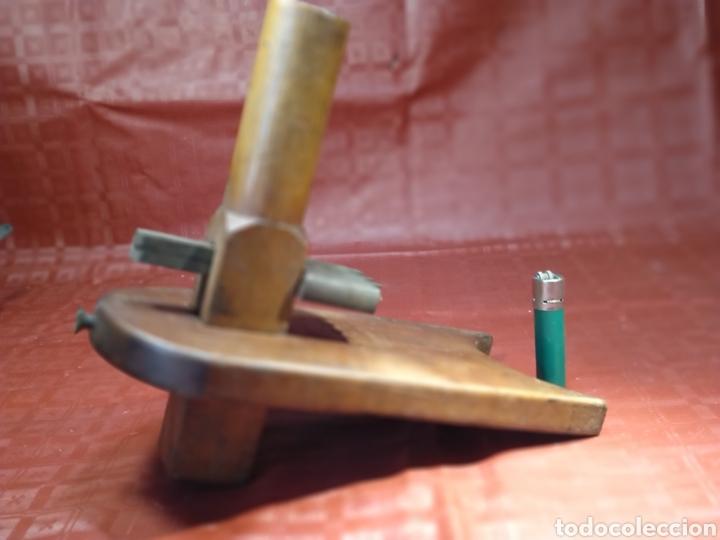 Antigüedades: Enorme Gramil de carpintero de ribera. Herramienta especial. - Foto 12 - 216416688