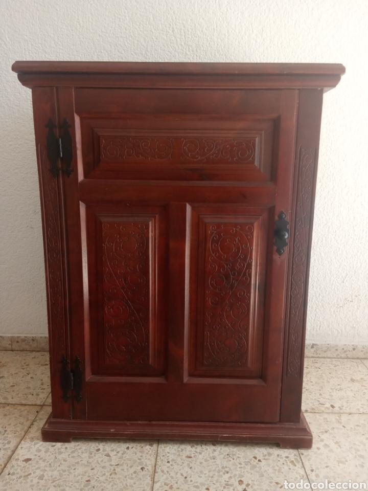 Antigüedades: Maquina de coser y mueble Alfa - Foto 14 - 216471815