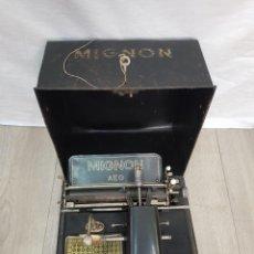 Antigüedades: AEG MIGNON DE LOS AÑOS 20.. Lote 216479547