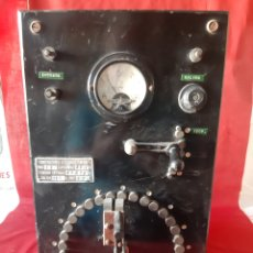 Antigüedades: ANTIGUO TRANSFORMADOR INDUSTRIAL CONSTRUCCIONES ELÉCTRICAS LO.GA. Lote 216480387