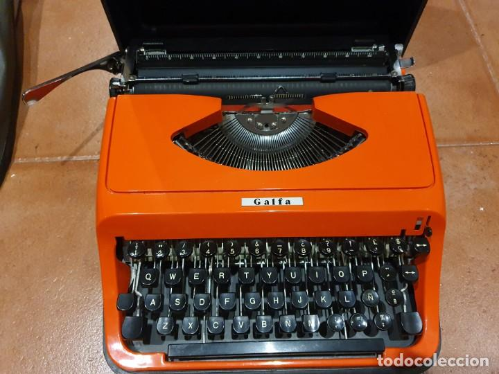 MÁQUINA DE ESCRIBIR GALFA (MARCA MUY RARA) FUNCIONANDO (Antigüedades - Técnicas - Máquinas de Escribir Antiguas - Otras)