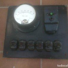 Antigüedades: ANTIGUO CUADRO ELECTRICO ELECTRICIDAD EGA DOSMIL. Lote 216486672