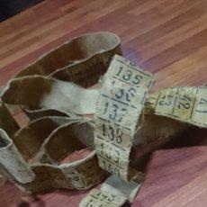 Antigüedades: ANTIGUA CINTA MÉTRICA, DE MODISTA, AÑOS 40-50. Lote 216500635