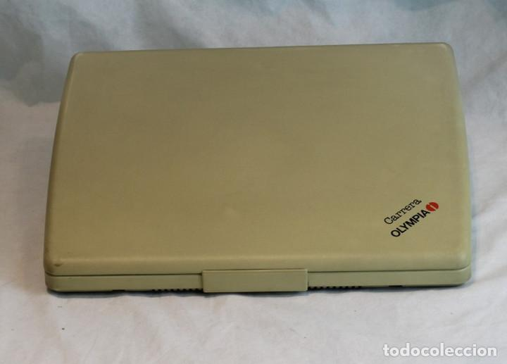 Antigüedades: Máquina de escribir eléctrica Olympia,modelo Carrrera,años 80/90,En perfecto estado,con estuche - Foto 3 - 216524272